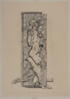 Sleeping experiment・Dream of a stone 89×62cm Pencil